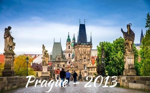 Voyage à Prague en 2013