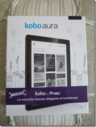 Kobo,Fnac,Liseuse,Ebook,Kobo aura,le carnet de calli