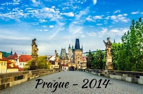 Visite de Prague en 2014