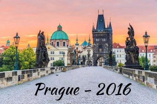 Visite de Prague en 2016