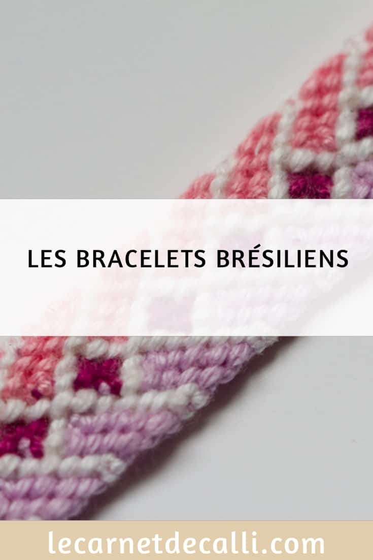 Bracelets brésiliens que je fabrique
