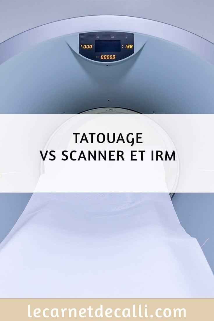scanner vs irm et scanner