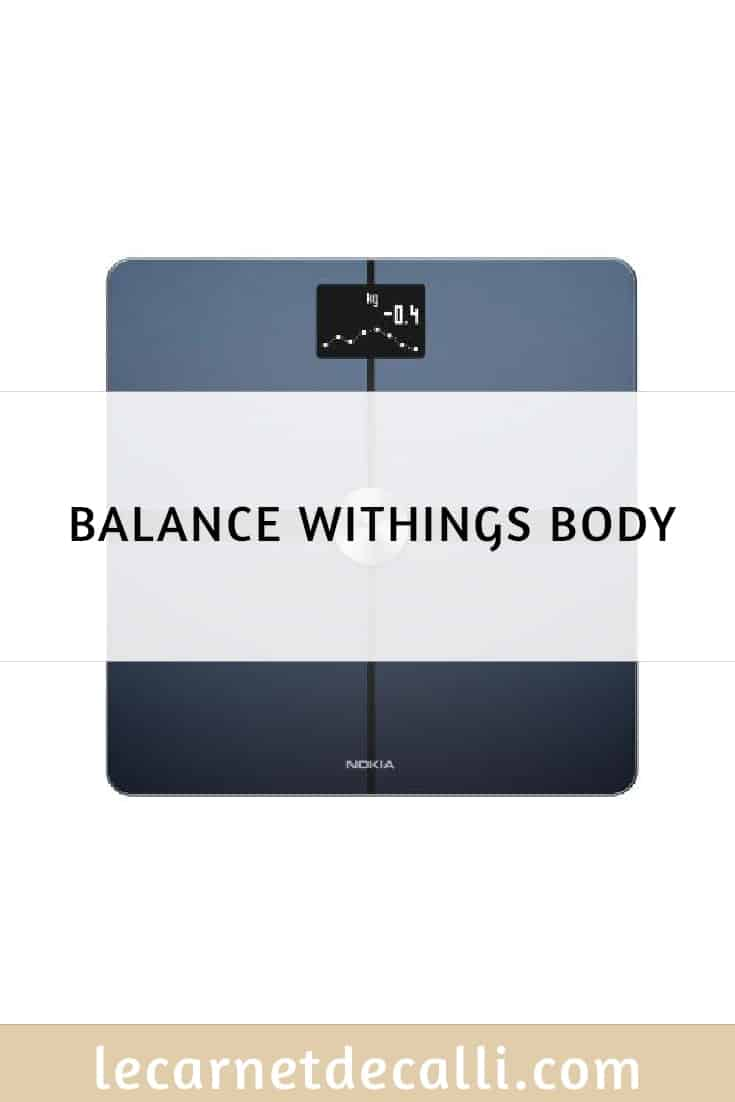balance withings body