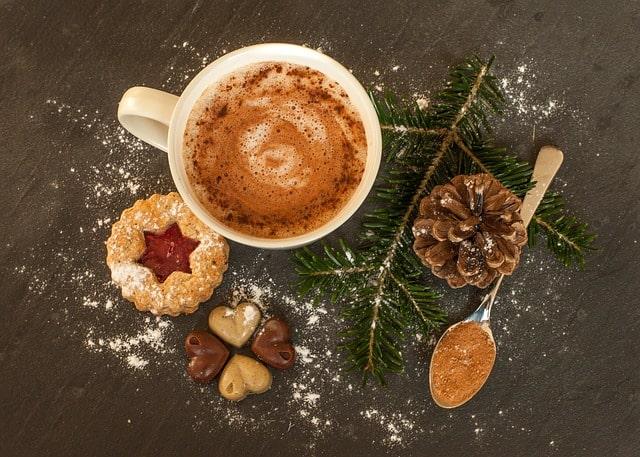 chocolat chaud d'automne
