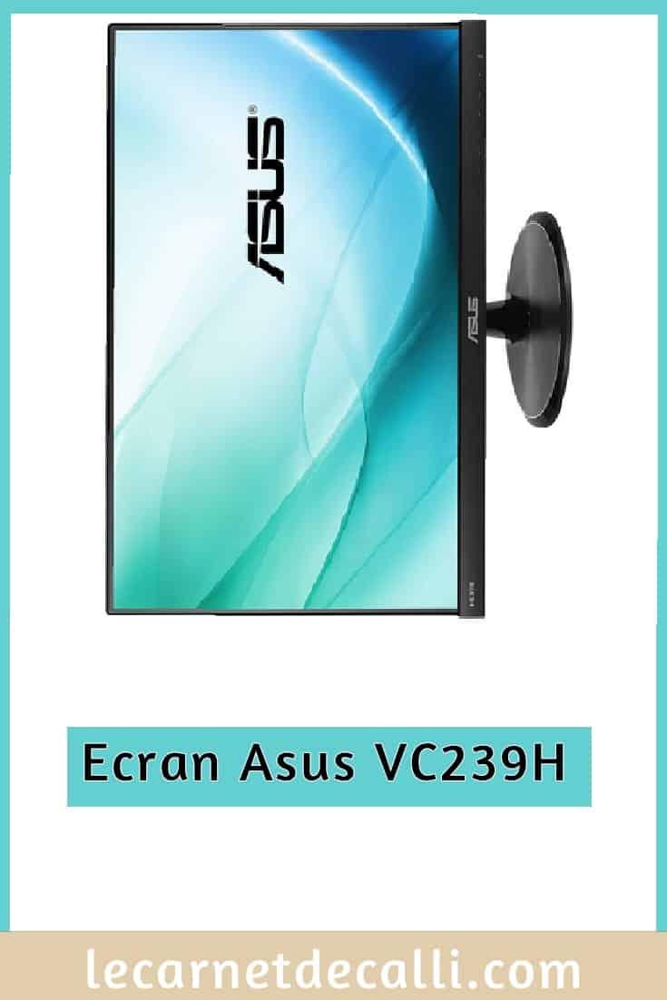Ecran d'ordinateur de bureau Asus VC239H, Photographie, Arnaud Frich, Ecran Asus, le carnet de calli