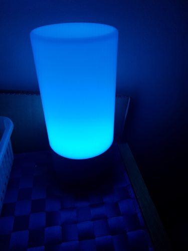 Lampe aukey bleu