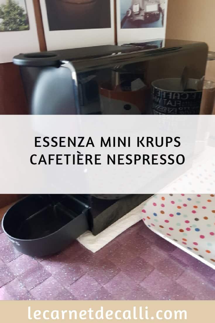cafetière krups essenza mini Nespresso