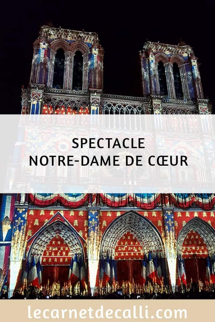 Spectacle Notre-Dame de Coeur