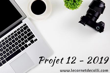 Projet12, le carnet de calli
