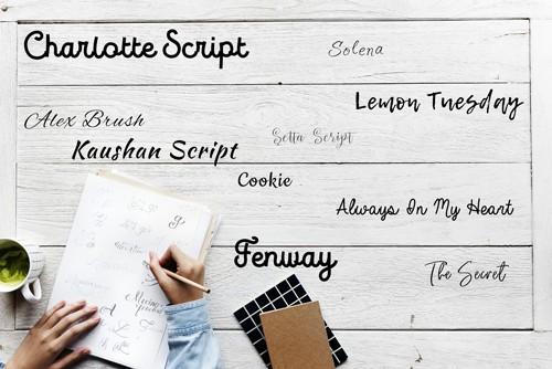Police d'écriture, Font, Graphisme, Blog, Ecriture, le carnet de calli, Typographie