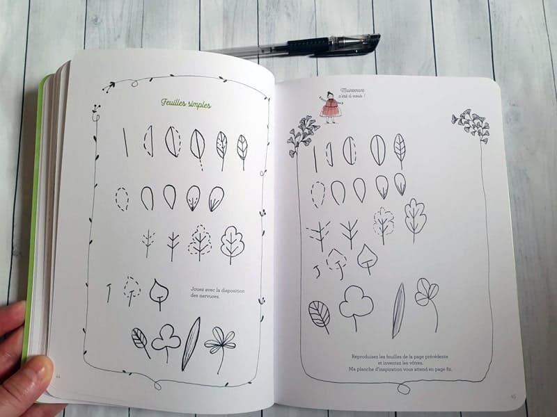 Doodling créatif,Julie Adore,le carnet de calli