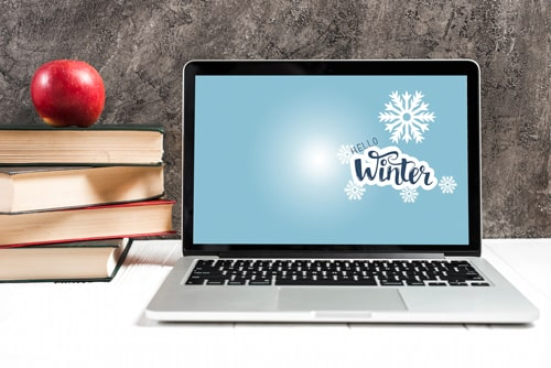 fond d'écran hiver gratuit