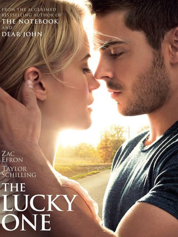 Affiche du film The Lucky One avec Zac Efron et Taylor Shilling