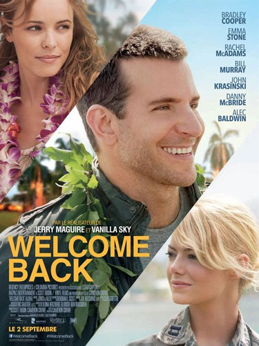 Affiche du film Welcome Back par le réalisateur Jerry Maguire