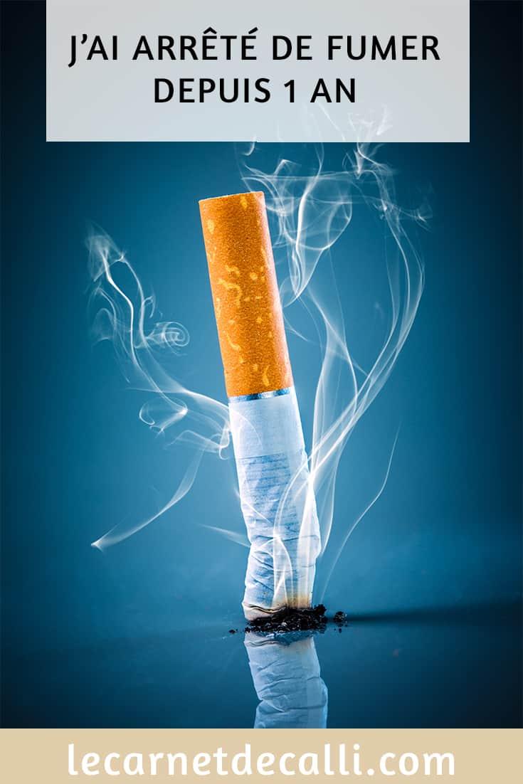 J'ai arrêté de fumer depuis 1 an, mon article ou je vous parle de cette année d'arrêt.