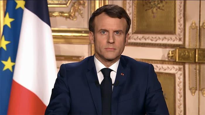 Allocution du président de la république française, Emmanuel Macron, le 13 avril 2020