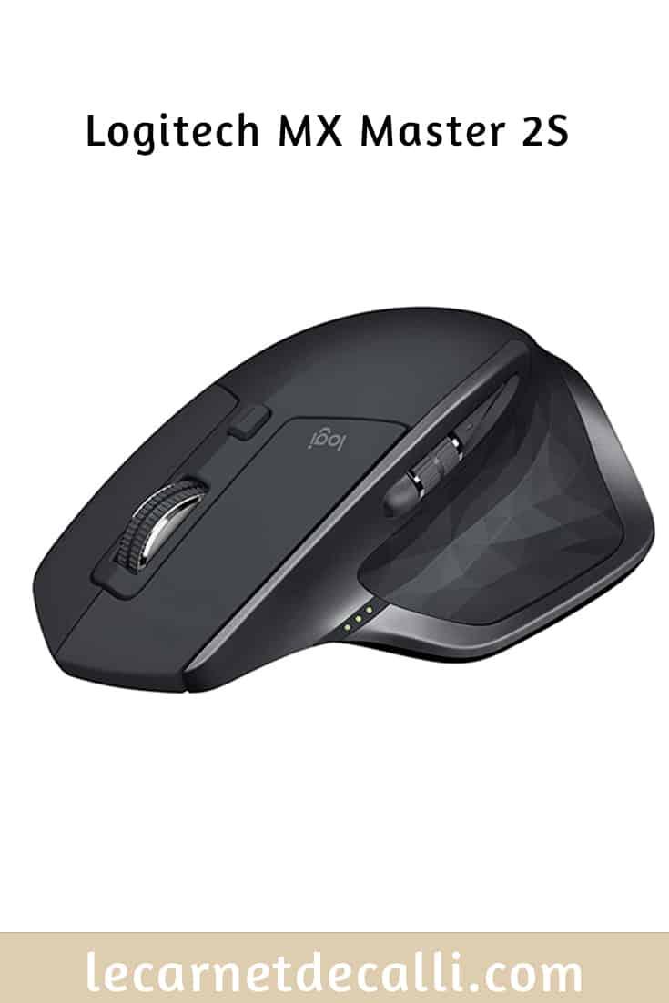 Test de la souris logitech mx master 2S