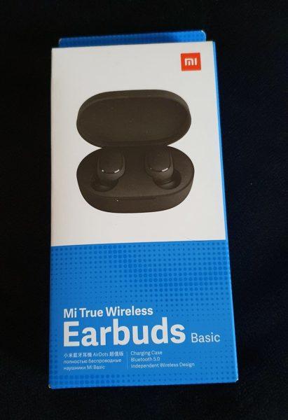 Boite des écouteurs xiaomi mi true wireless basic