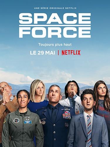 Série Space force sur Netflix
