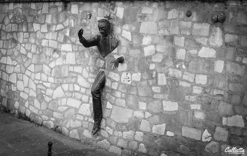 Le passe-muraille de Marcel Aymé