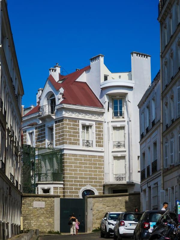 Maison de Dalida à Montmartre