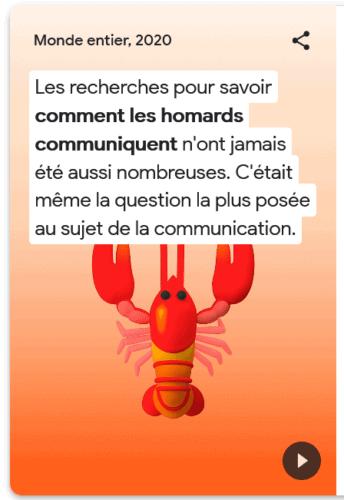 Comment les homards communiquent