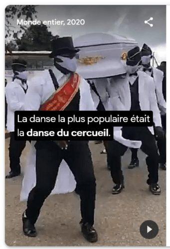 Danse du cercueil au Ghana