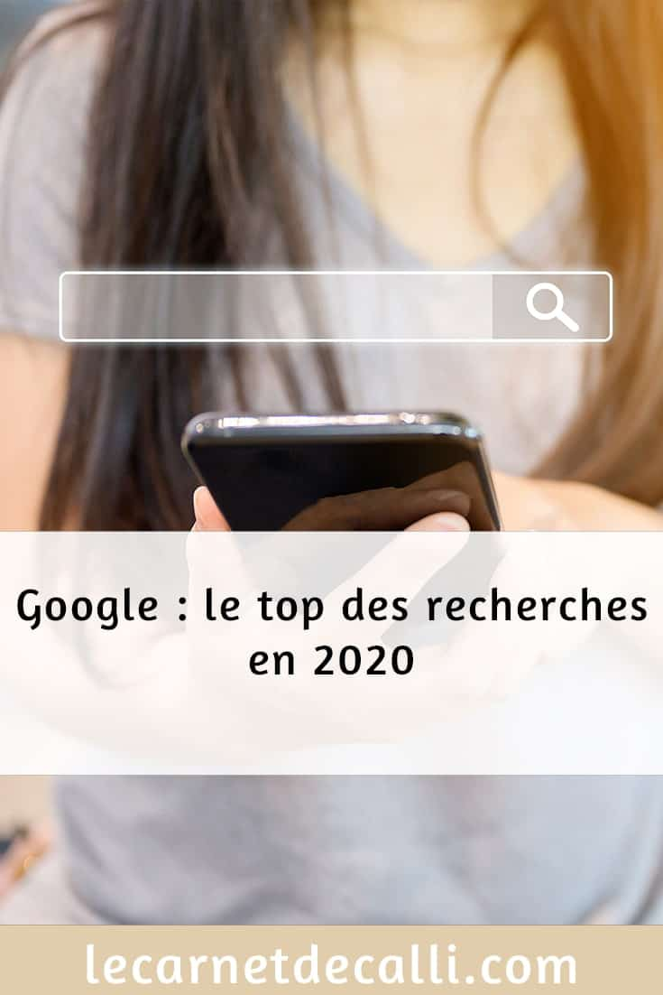 Google : le top des recherches en 2020