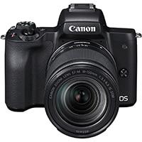 Canon EOS M50 Appareil Photo Hybride + EFM 18150 mm F/3.56.3 STM Noir