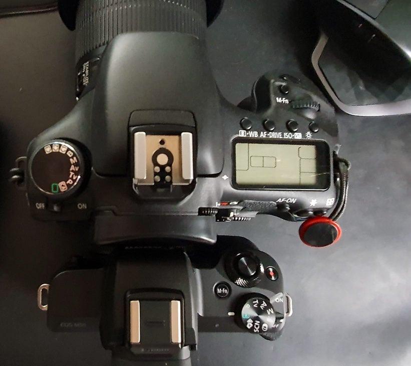 canon eos 7d canon eos m50