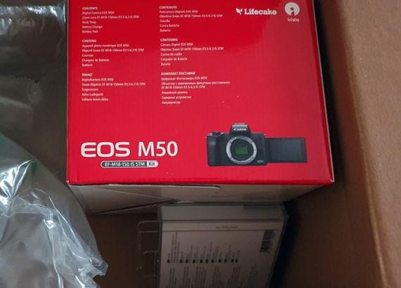 deballage canon eos m50