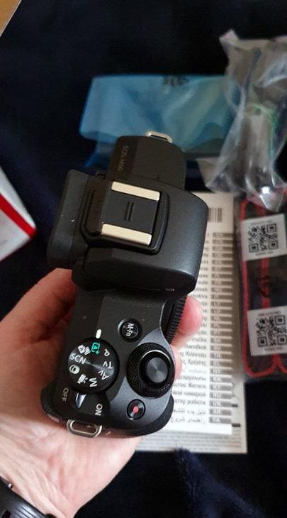 deballage canon eos m50 reflex hybride